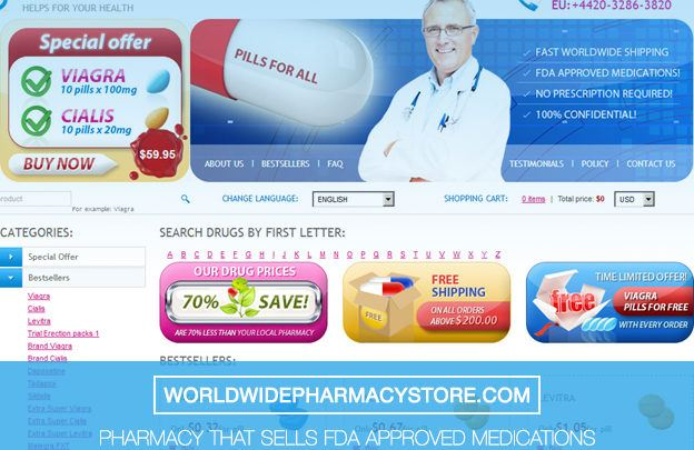 Worldwidepharmacystore.com Review - Pharmacy that Sells FDA Approved Medications But Has no Independent Reviews