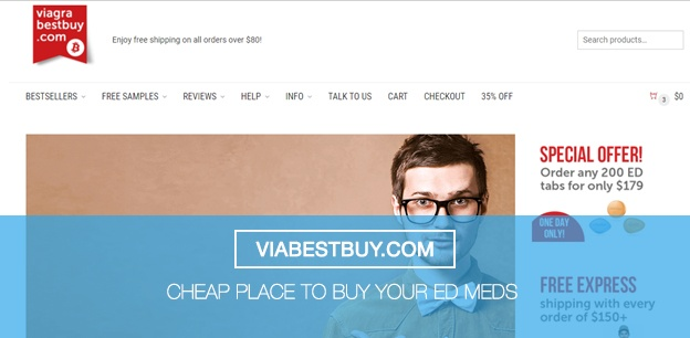 Viabestbuy.com - Cheap Place to Buy your ED Meds